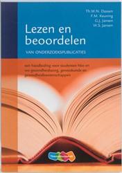 Lezen en beoordelen van onderzoekspublic -een handleiding voor studenten hbo en wo-gezondheidszorg, ge Dassen, Th.W.N.