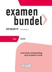 Examenbundel -Jouw beste voorbereiding op je examen in 2019 Rossum, M. van