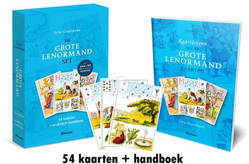 De Grote Lenormand set -54 kaarten Droesbeke, Erna