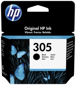 INKCARTRIDGE HP 305 3YM61AE ZWART -HP INKJET 3822989