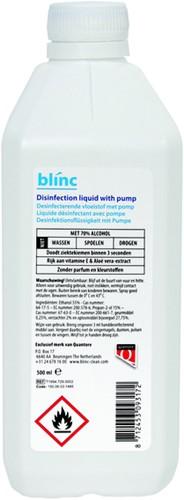 DESINFECTIE BLINC SPRAY 500ML -HUISMERK FACILITAIRE PRODUCTEN 1386620Q