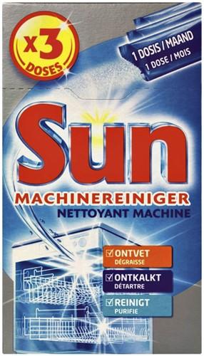 VAATWASMACHINE REINIGER SUN 3X40GR -REINIGINGSMIDDELEN 61091388