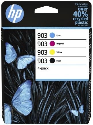 INKCARTRIDGE HP 903 6ZC73AE ZWART 3 -HP INKJET 3935560 KLEUREN