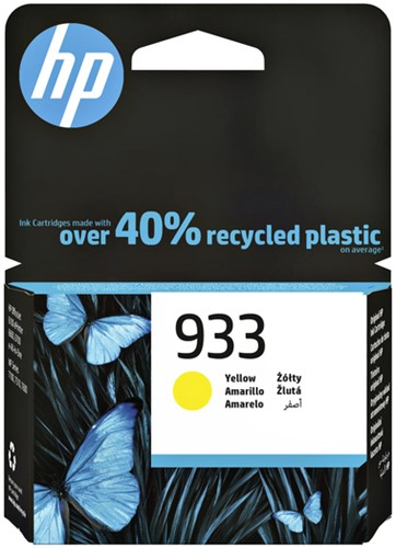 INKCARTRIDGE HP 933 CN060AE GEEL -HP INKJET 3935570