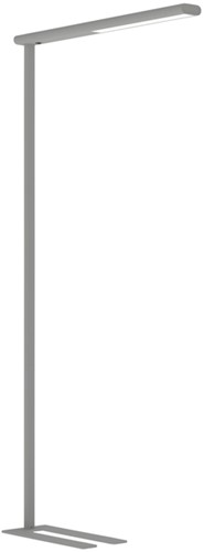 VLOERLAMP MAUL JET LED ALUMINIUM -BUREAULAMPEN 8257495