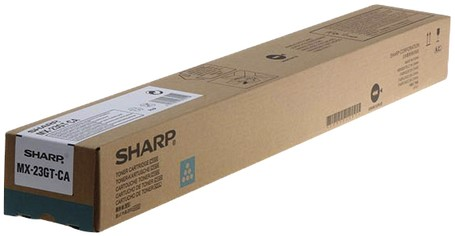 TONERCARTRIDGE SHARP MX-23GTCA 10K -TONER OVERIGE MERKEN SHAMX23GTC BLAUW