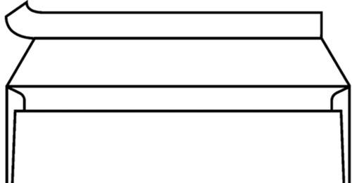 ENVELOP BANK VENSTER C5/6 114X229MM VR -VENSTERENVELOPPEN 2725700 ZK+STRIP WT