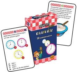 QUIZ IT junior - Klik klak klok! (QT -50 klokkijkraadsels