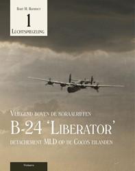 B-24 Liberator detachement MLD op de Coc -vliegend boven de koraalriffen Rijnhout, Bart M.