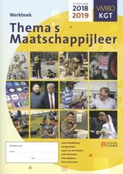 Thema's Maatschappijleer voor VMBO -werkboek 2018-2019 Middelkoop, Janine