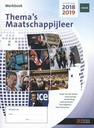 Thema's Maatschappijleer -werkboek 2018-2019 Ruijg, Heleen