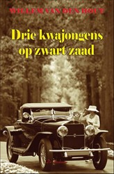 Drie kwajongens op zwart zaad Hout, Willem van den