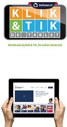 Klik & Tik de tablet (Android) -werkboek bij Klik & Tik. D blet (Android) Bohnenn, Ella
