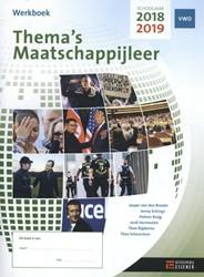 Thema's Maatschappijleer voor VWO -werkboek 2018-2019 Ruijg e.a., Heleen