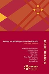 UCERF reeks UCERF - Actuele ontwikkeling -zesde UCERF symposium Boele-Woelki, Katharina