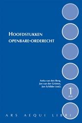 Ars Aequi Handboeken Hoofdstukken openba Berg, Anita van den