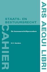 Ars Aequi cahiers  Staats- en bestuursre Sanders, K.H.