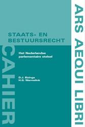 Ars Aequi cahiers  Staats- en bestuursre Elzinga, D.J.