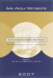 Ars Aequi Wetseditie Constitutionele bro BOER, C. DE