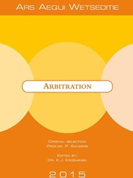 Arbitration -Dutch international laws and r egulations