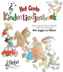 Het grote kinderliedjesboek Verbeecke, Walter