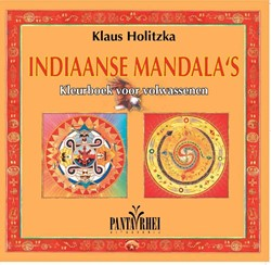 Indiaanse mandala's -kleurboek voor volwassenen met afbeeldingen ontleend aan de Holitzka, Klaus