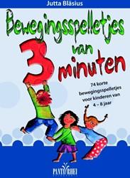 Bewegingsspelletjes van 3 minuten -74 korte bewegingsspelletjes v oor kinderen van 4-8 jaar Blasius, Jutta