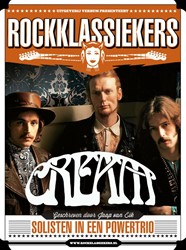 Cream -solisten in een powertrio Eik, Jaap van