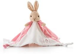 Peter Rabbit knuffeldoekje/tutje roze 30