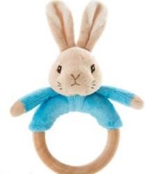 Peter Rabbit rammelaar/bijtring 18cm bla