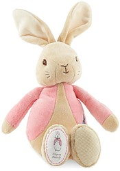 Peter Rabbit knuffel roze 26cm (6x in ve