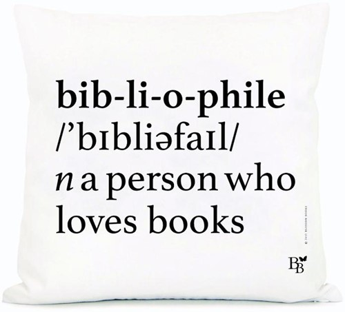 Throw pillow Bibliophile (set 5 stuks)