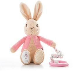 Peter Rabbit buggyspeeltje roze 19cm (12