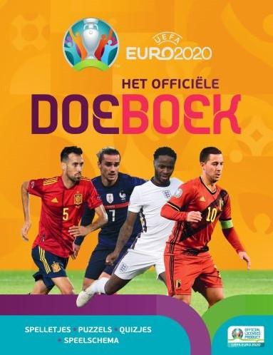 Euro 2020 Het officiele doeboek Stead, Emily