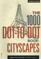 1000 Dot to Dot Cityscapes Pavitte, Thomas