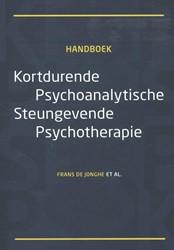 Kortdurende psychoanalytische steungeven Jonghe, Frans de