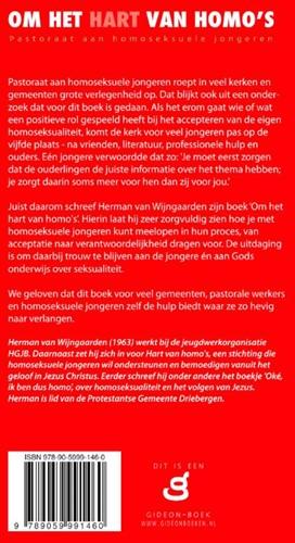 Om het hart van homo's -Pastoraat aan homoseksuele jon geren Wijngaarden, Herman van-2