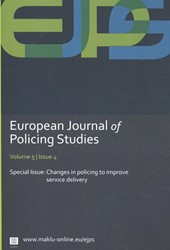 European Journal of Policing Studies - C -Changes in policing to improve service delivery Verhage, Antoinette
