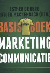 Basisboek marketingcommunicatie Berg, Esther de