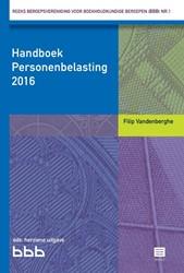 Handboek Personenbelasting 2017-Reeks BB Vandenberghe, Filip