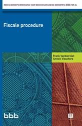 Fiscale Procedure - Reeks BBB nr 34 Vanbiervliet, Frank