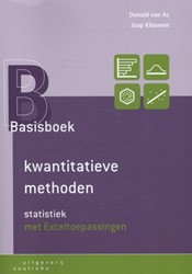 Basisboek kwantitatieve methoden - Stati -statistiek met Exceltoepassing en As, Donald van