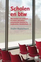 Scholen en btw -Btw-analyse van onderwijs en a ndere educatieve evenementen 9 Ruysschaert, Stefan