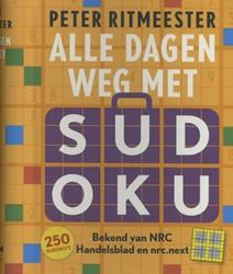 Alle dagen weg met sudoku -250 sudoku's van eenvoudi zeer moeilijk Ritmeester, Peter