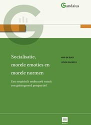 Gandaius Meesterlijk Socialisatie, morel -Een empirisch onderzoek vanuit een geintegreerd perspectief Buck, Ann De