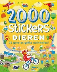 2000 stickers Dieren -36 gave en gekke activiteiten&