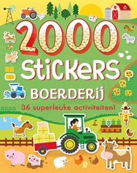 2000 stickers Boerderij -36 superleuke activiteiten