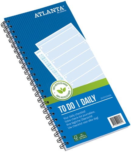 THINGS TO DO TODAY ATLANTA 297X140MM -INFO REGISTRATIE 2570721000 125V