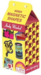 *Andy Warhol Wooden Magnetic Shapes GALISON
