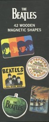 *The Beatles Wooden Magnetic Set
